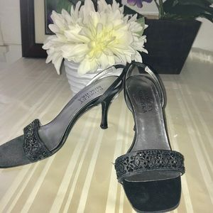Badgley Mischka Black sandal